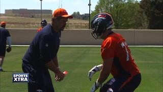 Broncos' Ron Leary a 'team guy,' moves over to right guard - Video