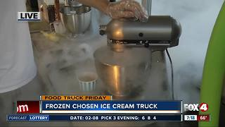 Liquid nitrogen food truck serves up SWFL - Video