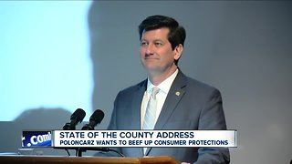 Poloncarz delivers state of the county address to questions