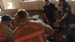 Paramedic Responding To Scene Receives Surprise Marriage Proposal - Video