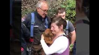 New Jersey Fire Department Rescues Dog Trapped in Pipe - Video