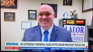 Lalor Discusses AG's Lawsuit Against the NYPD