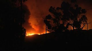 Fast-Moving Fire Burns Through 10,000 Acres in Ventura County
