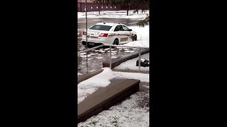 Wyoming's capital hit with flooding after brutal hail storm moves through - Video