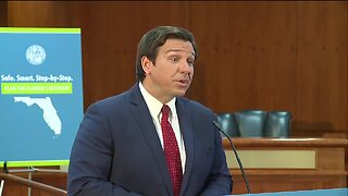 WATCH: Gov. Ron DeSantis outlines phase 1 of reopening Florida