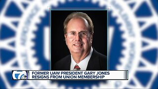 Former UAW President Gary Jones resigns from union membership