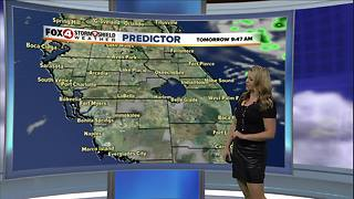 Rain Chances Today, Sunshine This Weekend