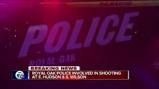 Officer-involved shooting reported in Royal Oak - Video