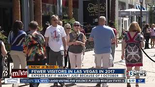 Fewer people visited Las Vegas in 2017 - Video
