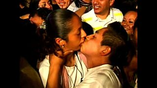 World Kissing Record