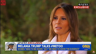 Melania Takes Stand for Men, Delivers Hard Truth to #MeToo Movement