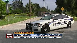 Officer-involved shooting under investigation in Palmetto, suspect dead - Video