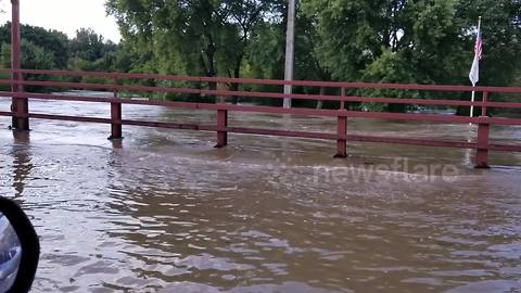 Wisconsin city flooded, state of emergency issued as river rises almost 20 inches