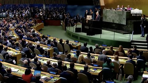 President Trump Hits Iran Hard During UN General Assembly Speech