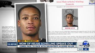 Donthe Lucas makes first court appearance since being charged with Kelsie Schelling's murder - Video