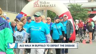 Buffalo Walk to Defeat ALS - Video