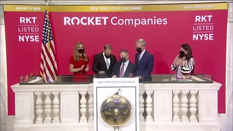 Dan Gilbert's Rocket Companies Wall Street IPO takes off