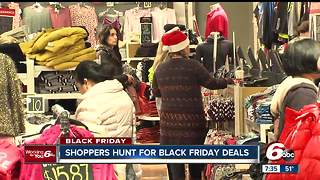 Shoppers hunt for Black Friday deals