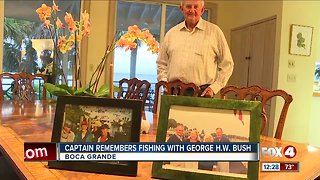 Captain remembers fishing with President George H.W. Bush