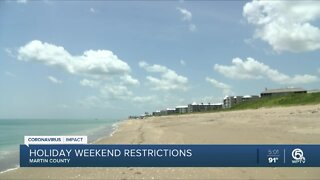 Businesses dealing with beach closures in Martin County