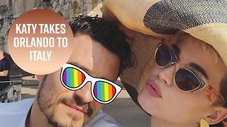 Katy Perry and Orlando Bloom's Roman Holiday - Video