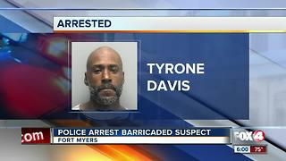 Barricaded suspect surrenders to Fort Myers Police