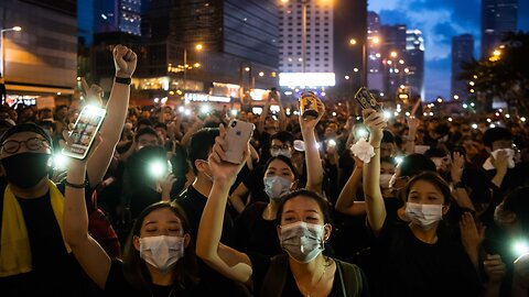 HK Protesters Take To The Streets For Third Day Of Demonstrations