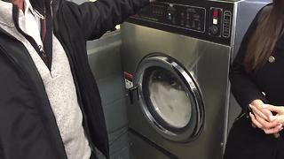 Woman raises funds for washing machines for KCFD - Video