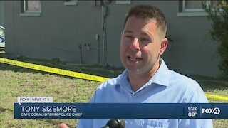 Authorities continue investigation in Cape Coral home backyard