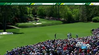 Tiger Woods makes his return to Augusta - Video