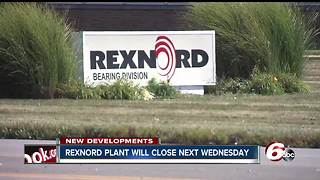 Rexnord plant to close week of Thanksgiving