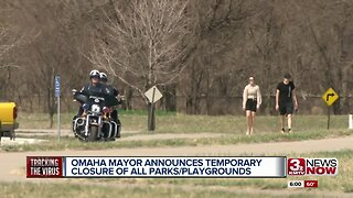 All city parks in Omaha closed through April
