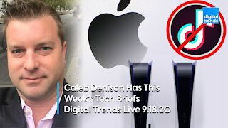 Tech Briefs with Caleb Denison | Digital Trends Live 9.18.20