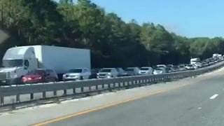 Evacuees Clog Florida Highways as Irma Approaches - Video