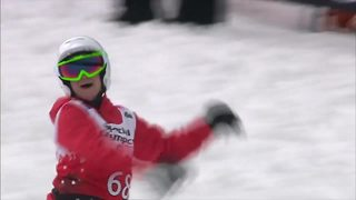 'I'm free. Free from my disability': Snowboarding changes Wisconsin Special Olympian's life - Video