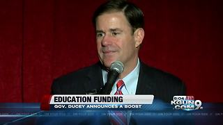 Ducey announces change to education funding - Video