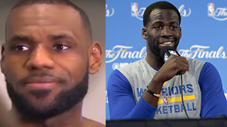 Draymond Green Flips Out Over NOT Kicking Anyone, LeBron James BLASTS Reporter Over Stupid Question - Video