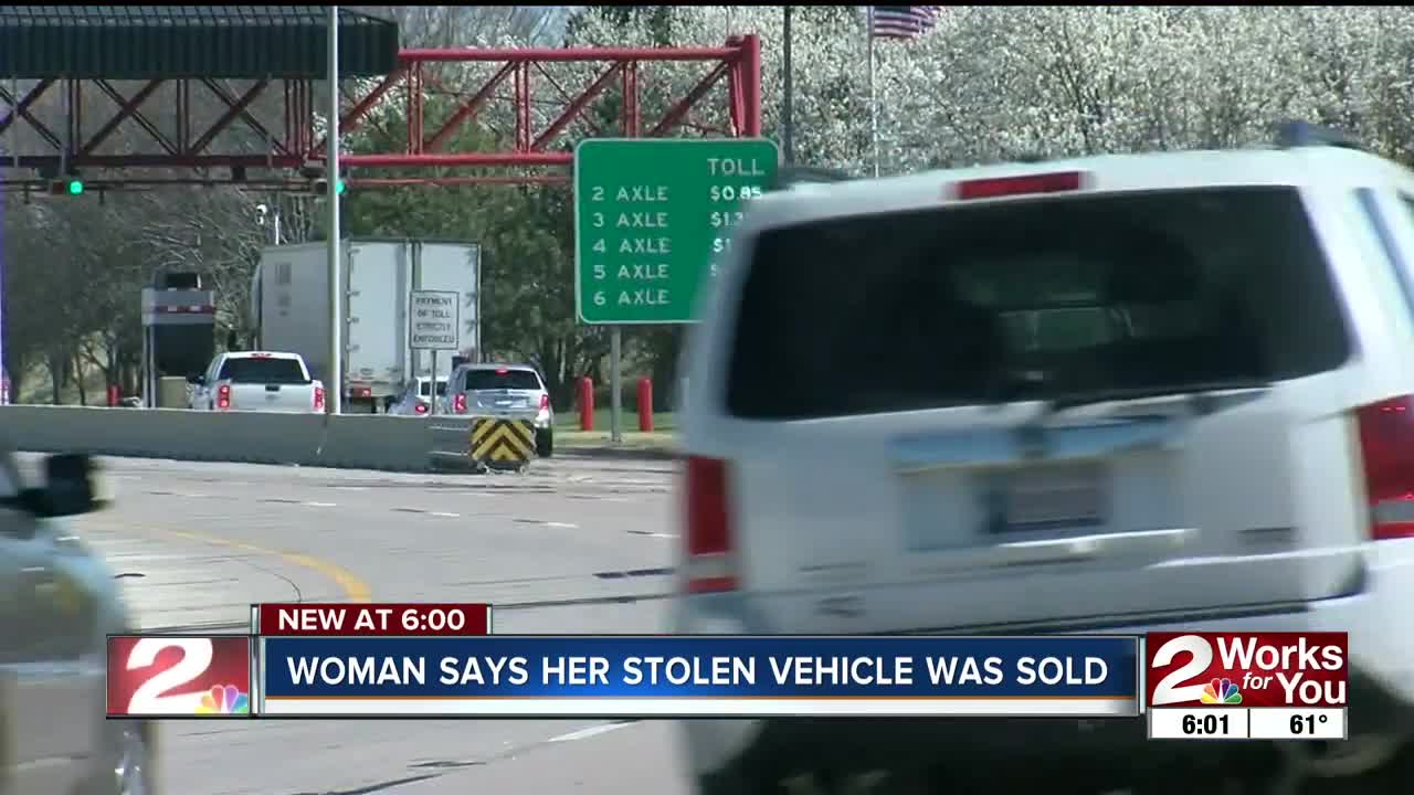 Car stolen then sold