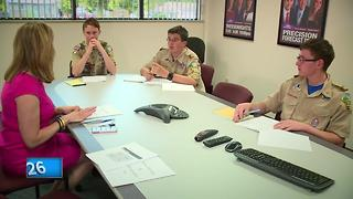 Area Boy Scouts serve as Hometown Media Correspondents during National Jamboree - Video