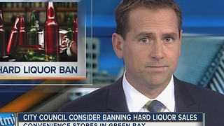 Green Bay explores banning gas station liquor sales - Video