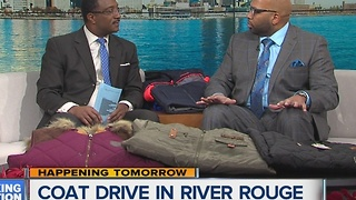 Coat Drive in River Rouge - Video