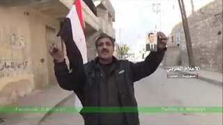 Syrian Troops Discover Rebel Stockpiles As They Enter Besieged Area of S. Aleppo - Video