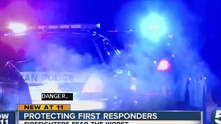 Protecting first responders - Video