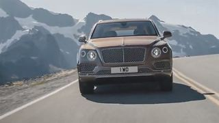 IAA 2015: Bentley Bentayga - Video