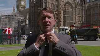 Jonathan Pie Takes Swipe at DUP-Tory Alliance - Video