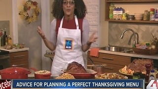 Advice planning for a perfect Thanksgiving meal - Video