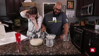 Elissa the mom's Christmas eggnog | Rare Life - Video