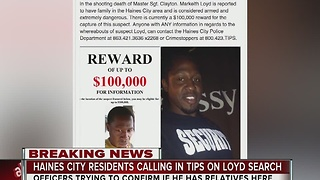 Haines City residents calling in tips on Markeith Loyd search - Video