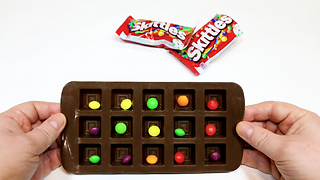 Amazing! How To Make Chocolate Candy Skittles - Video