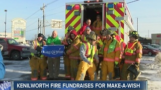 Kenilworth firefighters go above and beyond to help children - Video